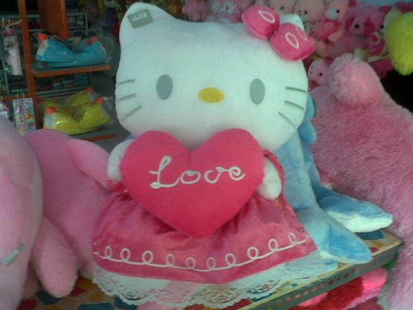 600 x 450 · 36 kB · jpeg, Boneka Hellokitty Love | Boneka hellokitty