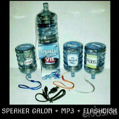 spiker galon radio fm mp3 player
