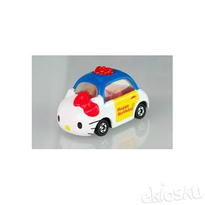 Tomica Dream Happy Birthday Hello Kitty