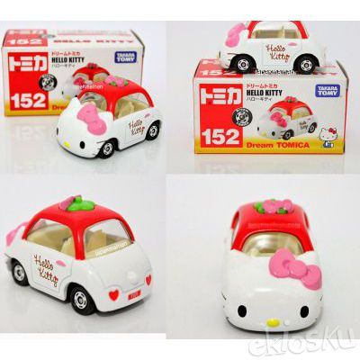 Tomica dream Hello Kitty putih 152