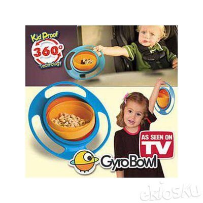 Gyro Bowl (Mangkok Anti Tumpah)