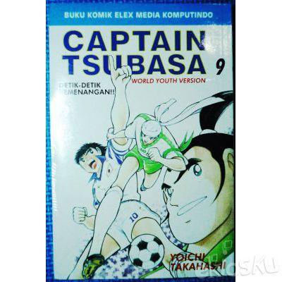 Komik Captain Tsubasa No 9 (New/Segel)