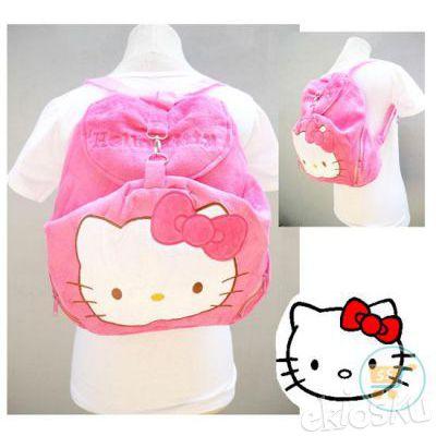2675 Ransel Kait Hello Kitty Pink Tua Tas Ransel Anak