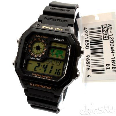 AE-1200WH-1BV ORIGINAL CASIO WATCHES LONG LIFE SERIES