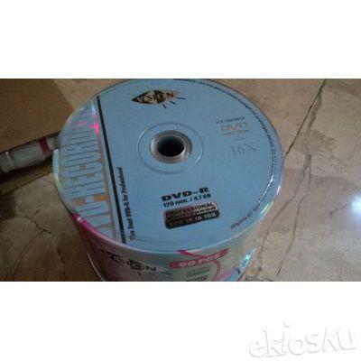 DVD Kosong Blank Merek Vision