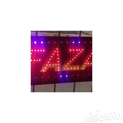 TULISAN LAMPU LED (( GARANSI 12 BULAN ))
