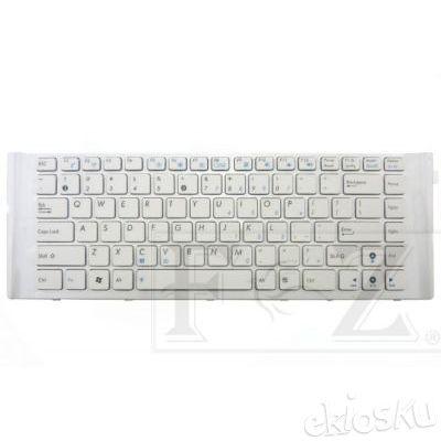 Keyboard ASUS A40D X42N X42JE X42DE X42D A40DY A40J A40EP A40DR A40JC A40I A40EN A40F A40DQ (WHITE)