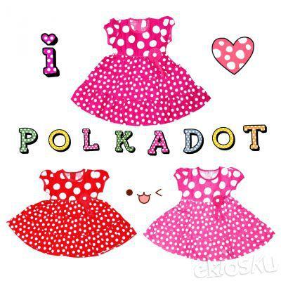 Sweet Polkadot Dresses