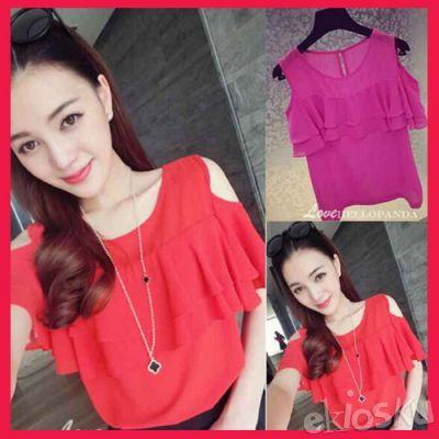 701537 Baju Blouse Wanita cantik Manis