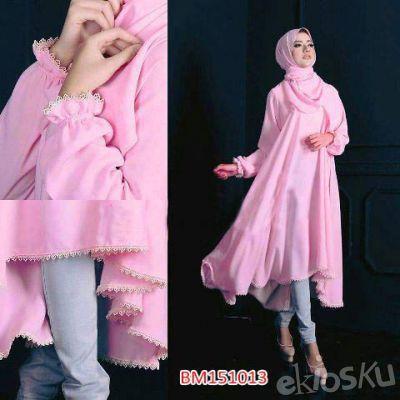 BM151013 Hijab Aiwa (2in1) Pakaian Muslim Wanita Trendi & Modis