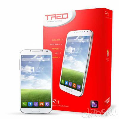 Smartphone Android Murah TREQ R1 – Slim Elegan