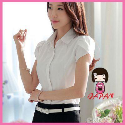 100718 Kemeja Wanita gaya Korea cantik