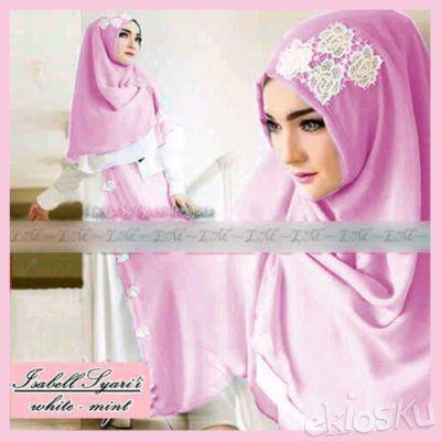 905126 Busana Gamis Baju Muslim Wanita cantik