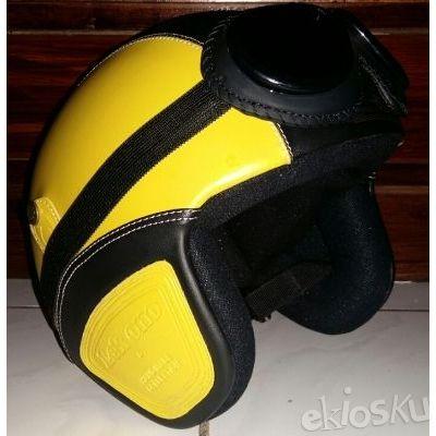 Helm KLASIK SNI Kuning Hitam