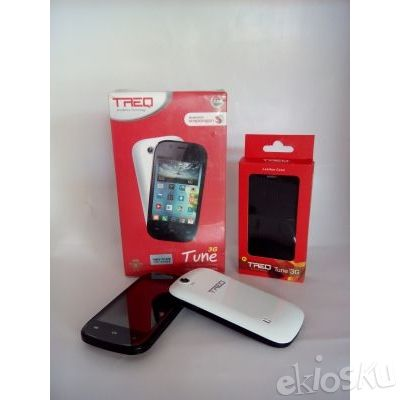 Smartphone Android TREQ Tune 3G Murah bisa BBM'an