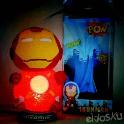 Cute Character Lamp Ironman CL19