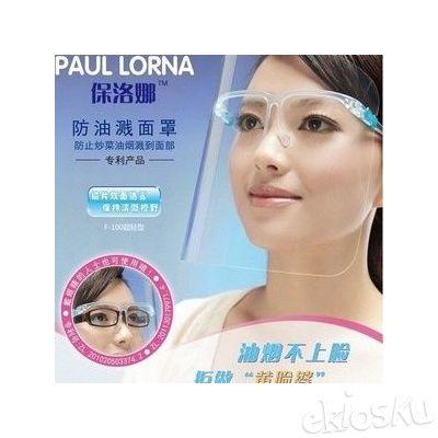 Paul Lorna Kacamata Masak Pelindung Wajah / Kaca Mata Unik Warna-Warni