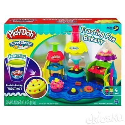 Cetakan ORIGINAL Playdoh Frosting Fun Bakery Sweet Shoppe(Bukan Fundoh)