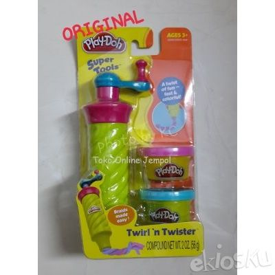 Cetakan PlayDoh Twirl n Twister Play Doh ORIGINAL (BUKAN Fun Doh)