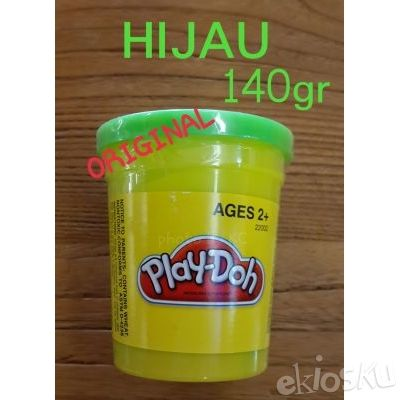 (HIJAU) 140gr lilin Play-Doh ORIGINAL/Playdoh dough compound GREEN