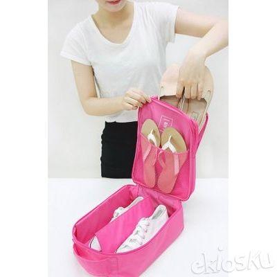 Shoes Pouch Tas Sepatu Fitness Baju Sandal Handuk Olahraga