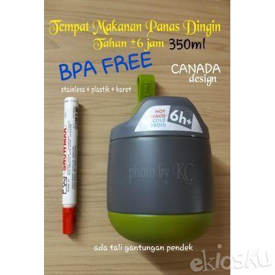 350ml BPA FREE CANADA design Termos Simpan Makanan Bayi Anak Food Jar