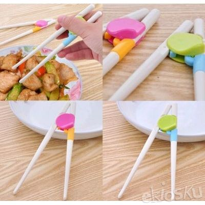 CHILDREN CHOPSTICKS sumpit anak children makan kids alat training eat