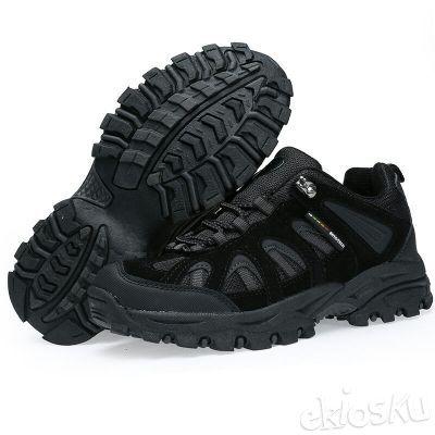 Sepatu SNTA 602 Wanita Hiking/Outdoor/Olahraga Warna Black/Grey