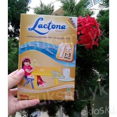 Lactona 1+ Gold Rasa Vanila 200 GR