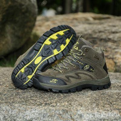 Sepatu SNTA 471 Hiking/Outdoor/Olahraga Model Pria Warna Green