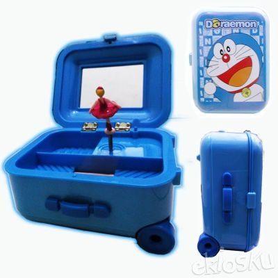 Kotak Musik Tas Trolley Lipat Doraemon Koleksi Barang Dora Lucu Unik