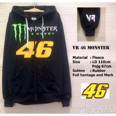 Sweater VR46 Monster Energy