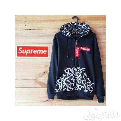 Sweater Supreme Hitam