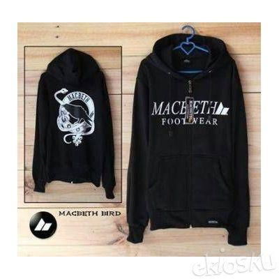 Sweater MacBeth Bird Hitam