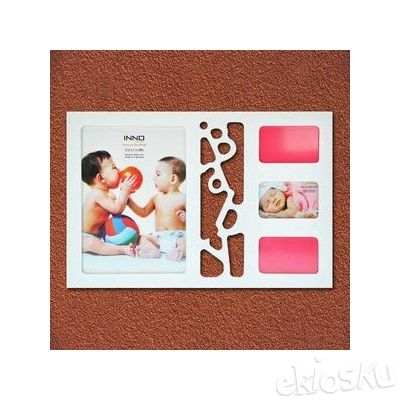 Photo Wooden Frame Inspiration Baby White (07931)