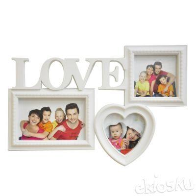 Bingkai Foto Plastik Q1103 Love