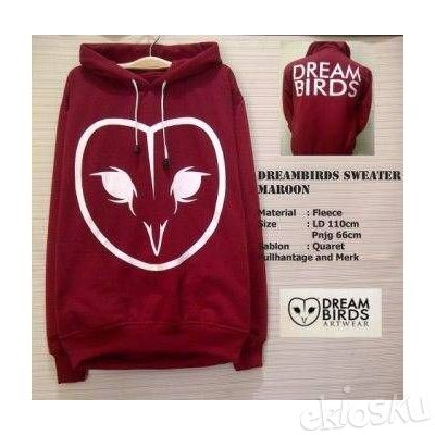 Sweater Dreambirds Classic Maroon