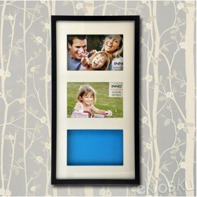 Photo Frame T-200 Shadow Mat 8x16 Black