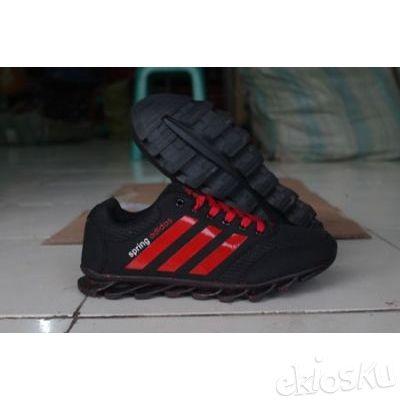 Sepatu Lari Adidas Springblade 8 Cowo Hitam/Merah