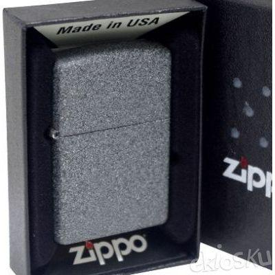 ZIPPO 211 Iron Stone Original USA | Stok LENGKAP Garansi Resmi