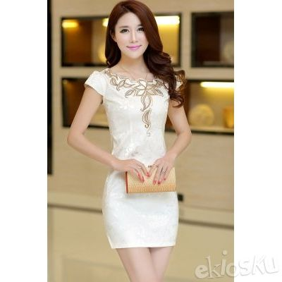 DRESS CHEONGSAM TERBARU 03