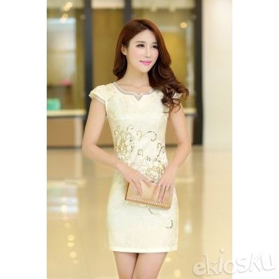 DRESS CHEONGSAM TERBARU 04