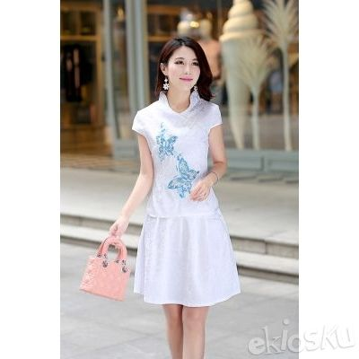 DRESS CHEONGSAM TERBARU 06