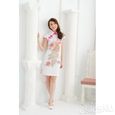 DRESS CHEONGSAM TERBARU 07