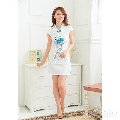DRESS CHEONGSAM TERBARU 09