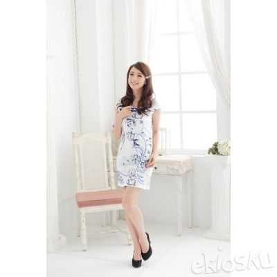 DRESS CHEONGSAM TERBARU 11