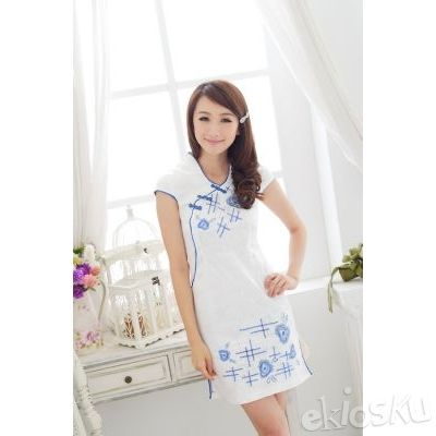 DRESS CHEONGSAM TERBARU 13