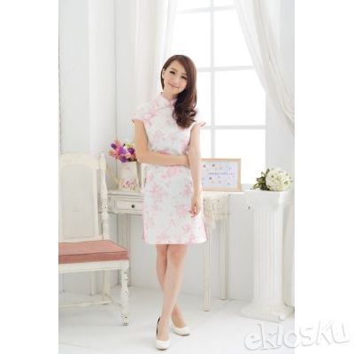DRESS CHEONGSAM TERBARU 16