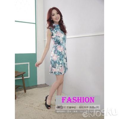 DRESS CHEONGSAM TERBARU 17