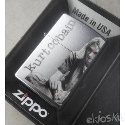 ZIPPO 29052 Kurt Cobain ORIGINAL USA | Stok LENGKAP Garansi Resmi